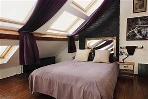 Bett Mit Dach : schlafzimmer unterm dach was nun ~ Frokenaadalensverden.com Haus und Dekorationen