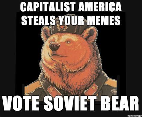 Ussr Memes - soviet bear know your meme