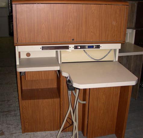 rear delivery dental cabinet pelton crane spirit 12 o 39 clock rear delivery color