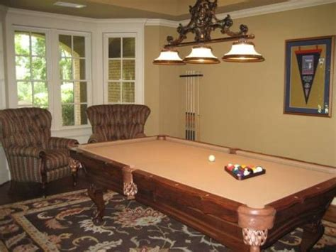 dining table pool table in living room house ideas
