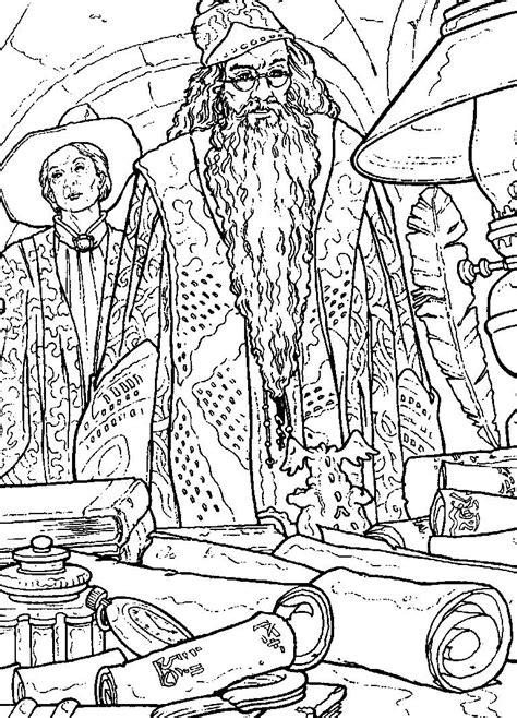 Coloring pages harry potter picture 29