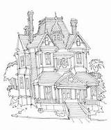 Ranch Cattle Pages Sketches Guest Coloring Dollhouse Colouring Adult sketch template