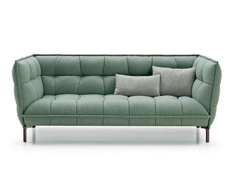 canapé capitonné design canapé capitonné en tissu husk sofa by b b italia design