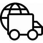 Delivery International Icon Onlinewebfonts