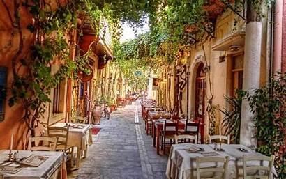 Italy Verona Streets Cafe Italian Street Places