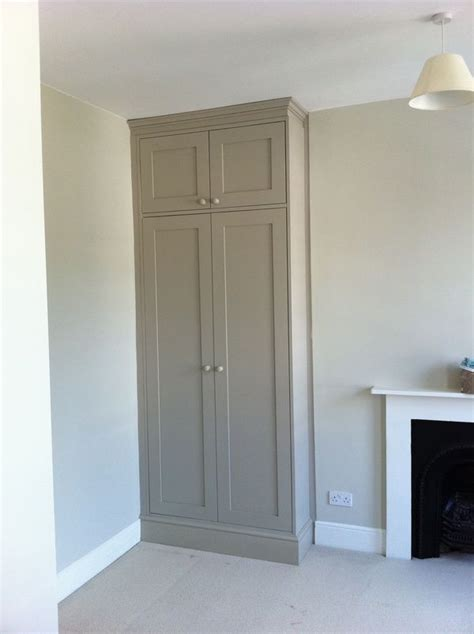 Built In Cupboard Doors by Different Colour For The Home Bedroom Cupboards
