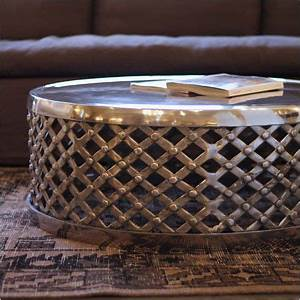 25 best ideas about drum coffee table on pinterest drum With capiz round drum coffee table