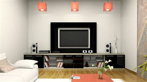 Une Alcôve Pour Téléviseur à écran Plat