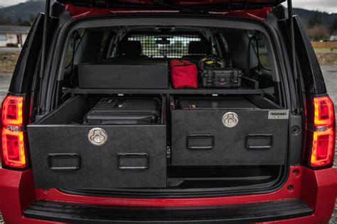 suv truckvault storage vehicle suburban fire chevy custom drawers vehicles lock ems solutions systems solution security secure max