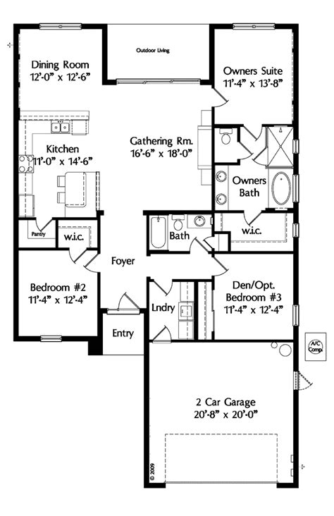 house plans one level plan 29804rl 4 beds with elevator and basement options