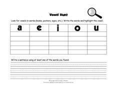 short   long  sound images phonics word