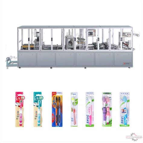 automatic toothbrush paper plastic packaging machine toothbrush blister tray forming paper card