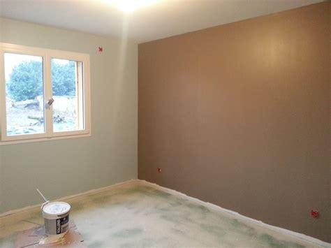 chambre 2 couleurs peinture simulation peinture chambre