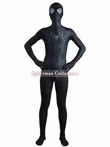 Black The Amazing SpiderMan 2 Costume