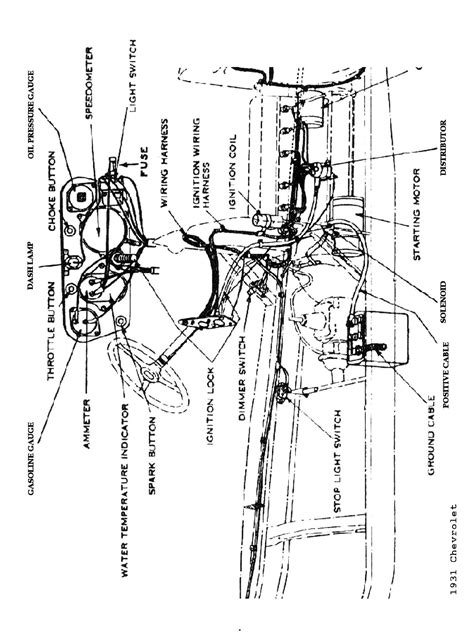 Wiring Diagram For A 1937 Chevy Truck by Chevy Wiring Diagrams
