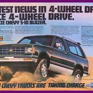 1982 Chevrolet S10 Blazer 4x4 Hottest Thing Vintage Ad