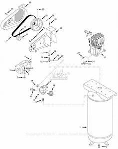 Campbell Hausfeld Vt619503 Parts Diagram For Air