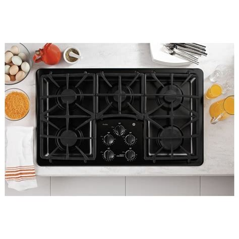 ge profile series   built  gas cooktop  shipping today overstock