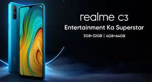 realme  variants specifications revealed