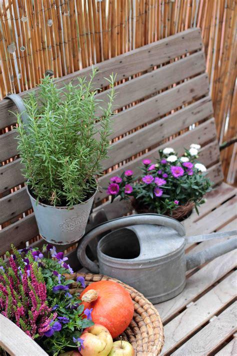 Herbst Garten Giessen by Herbst Am Balkon Jetzt Auf Dem Garten Vom Garten