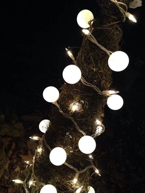 ping pong balls on white christmas lights make beautiful