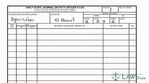 Learn how to fill the da form 1594 daily staff journal or for Duty log template