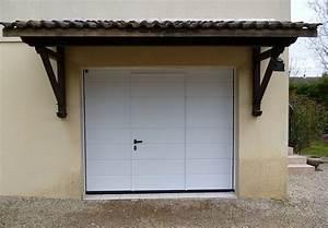 charmant porte de garage sectionnelle avec porte pvc With porte de garage sectionnelle avec porte blindée vitrée