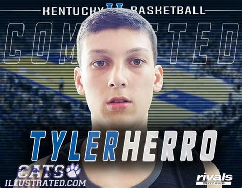 basketball recruiting tyler herro   official