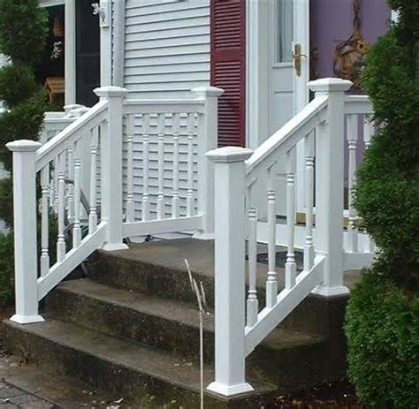 vinyl porch railing 17 best images about small front porches on