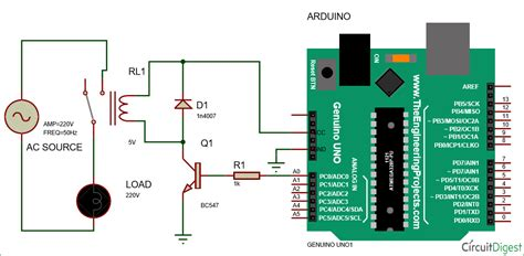 arduino relay control tutorial use arduino for projects
