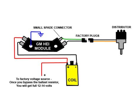 Gm Hei Module Wiring by Gm Hei No Spark For A Bodies Only Mopar Forum
