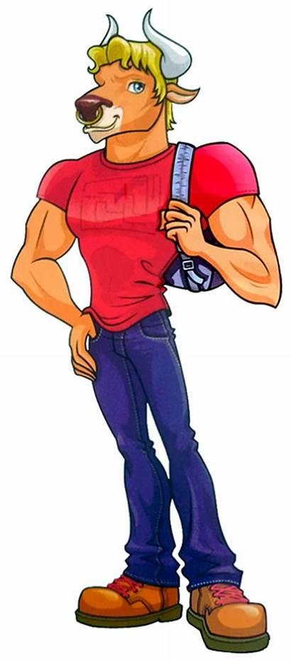 Manny Monster Taur Wiki Characters Cartoon Boys