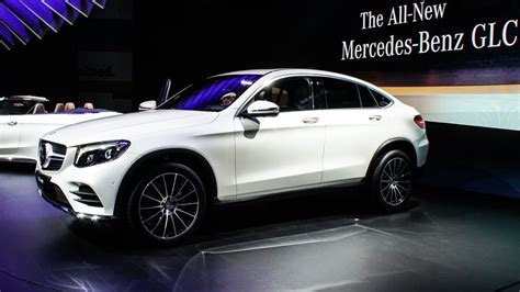 mercedes benz glc coupe   curvaceous suv pictures