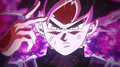 wallpaper goku black super saiyan rose  anime
