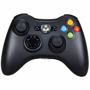 Microsoft Xbox 360 Wireless Controller GLOSSY Black Xbox