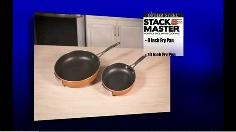 gotham steel stack master cookware tv commercial   space  ispottv