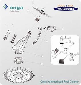 Onga Hammerhead Pool Cleaner Spare Parts