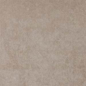 Beige, Solid Woven Velvet Upholstery Fabric By The Yard