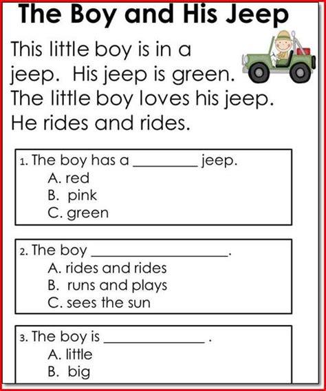 Number Names Worksheets » Reading Worksheet For Kids  Free Printable Worksheets For Pre School