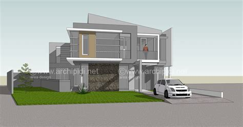 desain rumah minimalis modern kramadjati area design