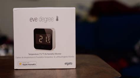 elgato debuts eve degree homekit sensor video review