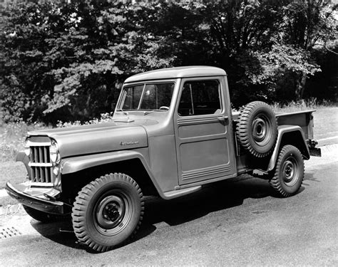 jeep heritage  jeep willys pickup truck  jeep blog