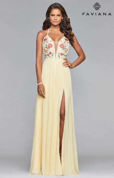 pastel pink dress yellow prom dresses formal gowns homecoming cheap