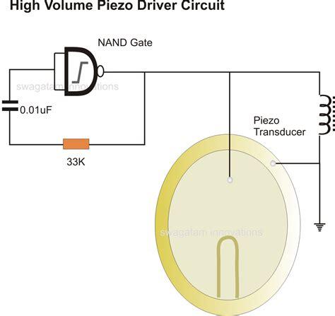 12v transformer junction simplest piezo driver circuit explained
