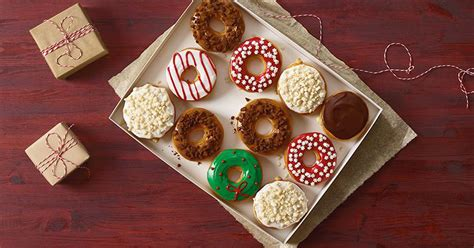Dunkin' Donuts Will Sell Holiday Cookie-flavored Doughnuts Cafe Coffee Day Tagline Listed Company Stumptown Art Classes Design French Press Good For You Hazratganj Lucknow Mumbai