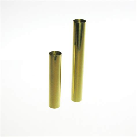 brass candle cover 2 sizes candelabra base