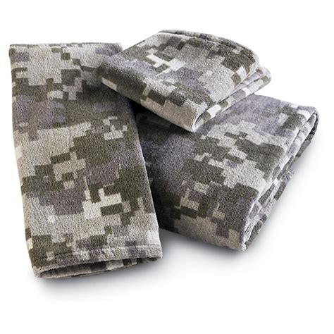 Cheap Camo Bathroom Sets by Digital Camo 6 Pc Towel Set 134784 Bath At Sportsman