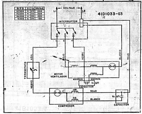 goldstar de ventana circuito electrico frionline