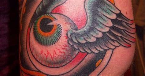 von dutch flying eye ball tattoo tattoos pinterest