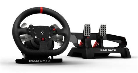 siege volant xbox one gamescom mad catz dévoile nouveau volant pour xbox one